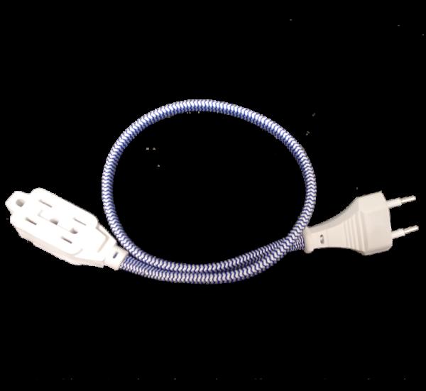 Travel Cord Plus Black Transparent