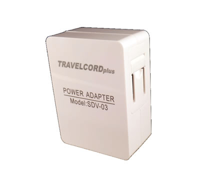 TravelCord 4 Port USB Travel Charger Back