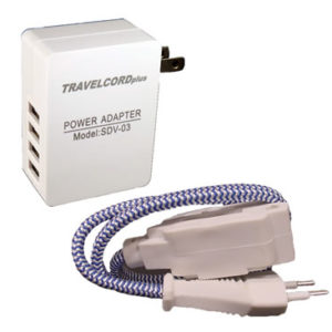 TravelCord Plus + 4 Port USB Charger